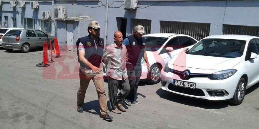 Bursa eski Emniyet Müdürü böyle gözaltına alındı