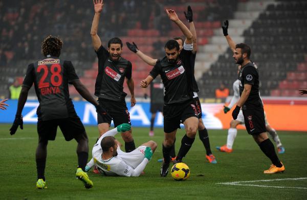 Gaziantepspor:1 - 2:Bursaspor 15