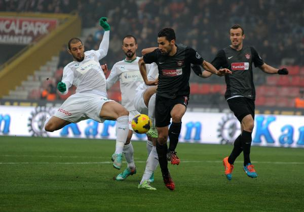 Gaziantepspor:1 - 2:Bursaspor 16
