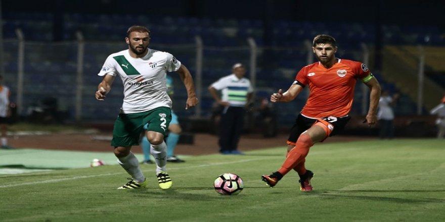 Adanaspor-Bursaspor maçından kareler