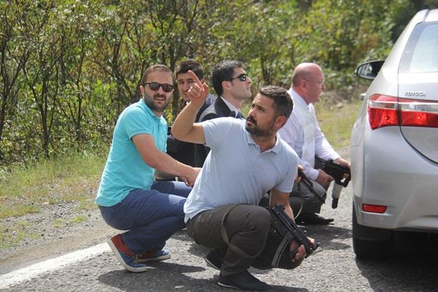 Kemal Kılıçdaroğlu'nun konvoyuna silahlı saldırı 1