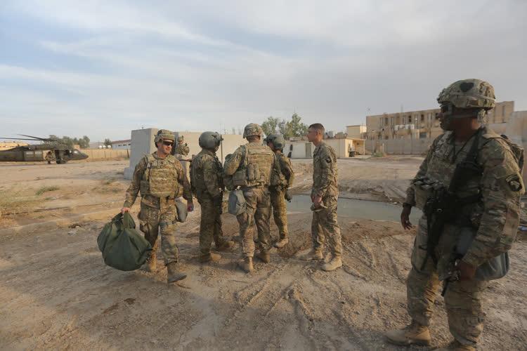 ABD askerlerinin ilk görüntüleri 1