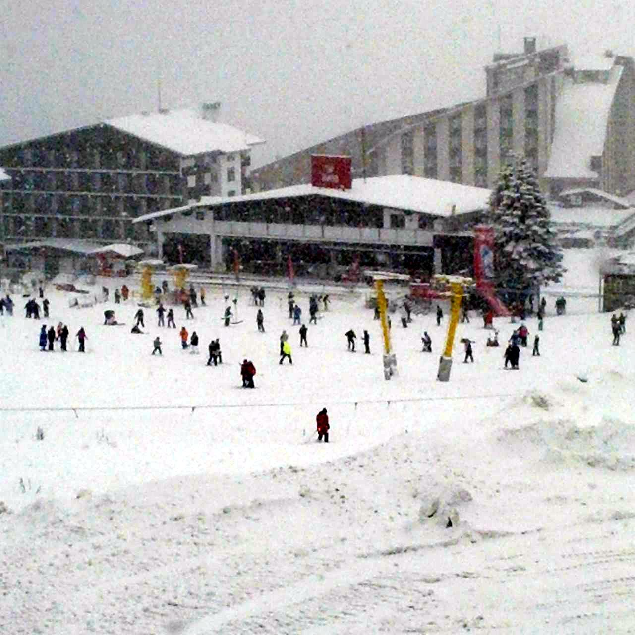 Uludağ'da kar kalınlığı 60 santime ulaştı 7