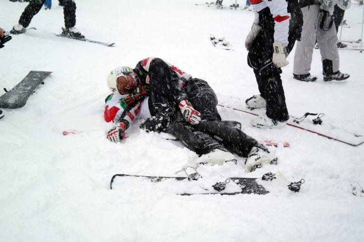Uludağ'da kar kalınlığı 1 metreyi aştı 12