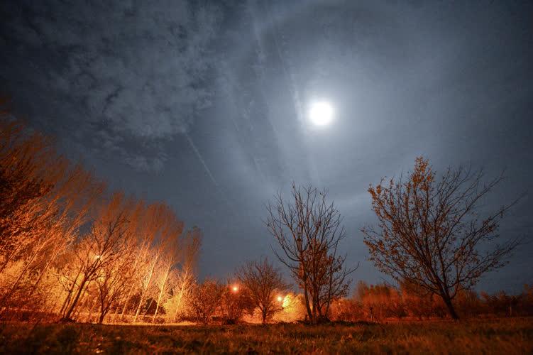 'Süper Ay'dan süper fotoğraflar 1