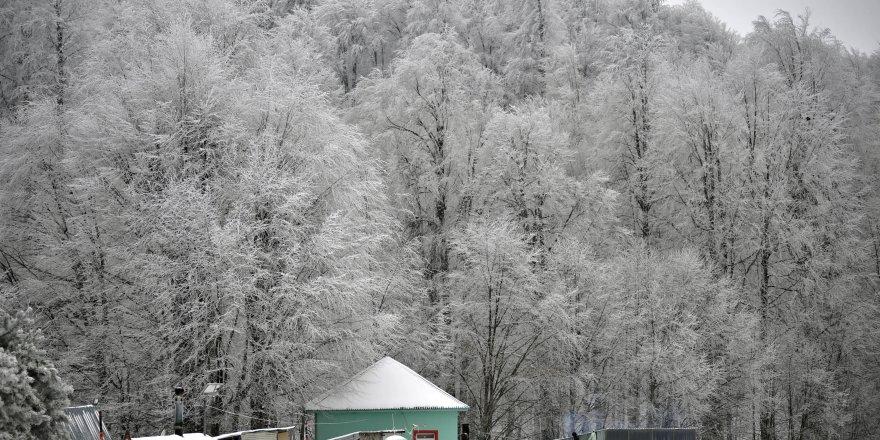 İnegöl'den kar manzaraları
