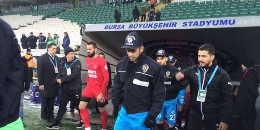 Bursaspor'dan anlamlı hareket