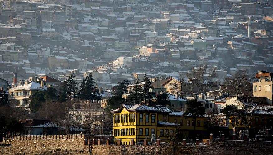 Bursa'da kış 5