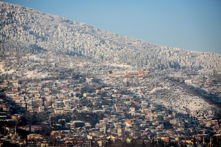 Bursa'da kış 7