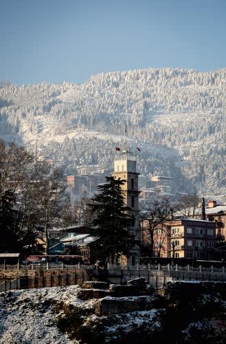 Bursa'da kış 9