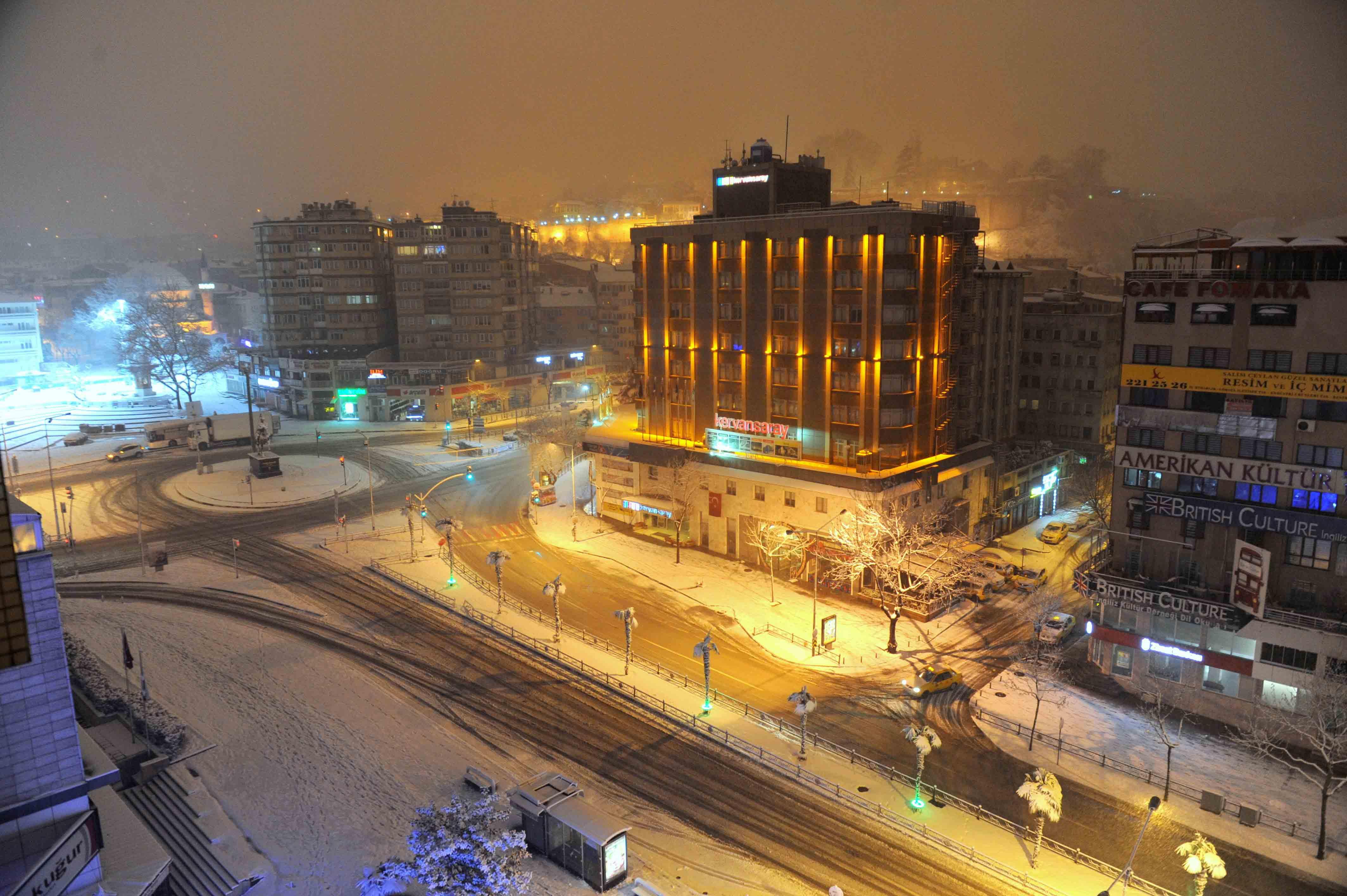Kar Bursa'ya çok yakıştı 20