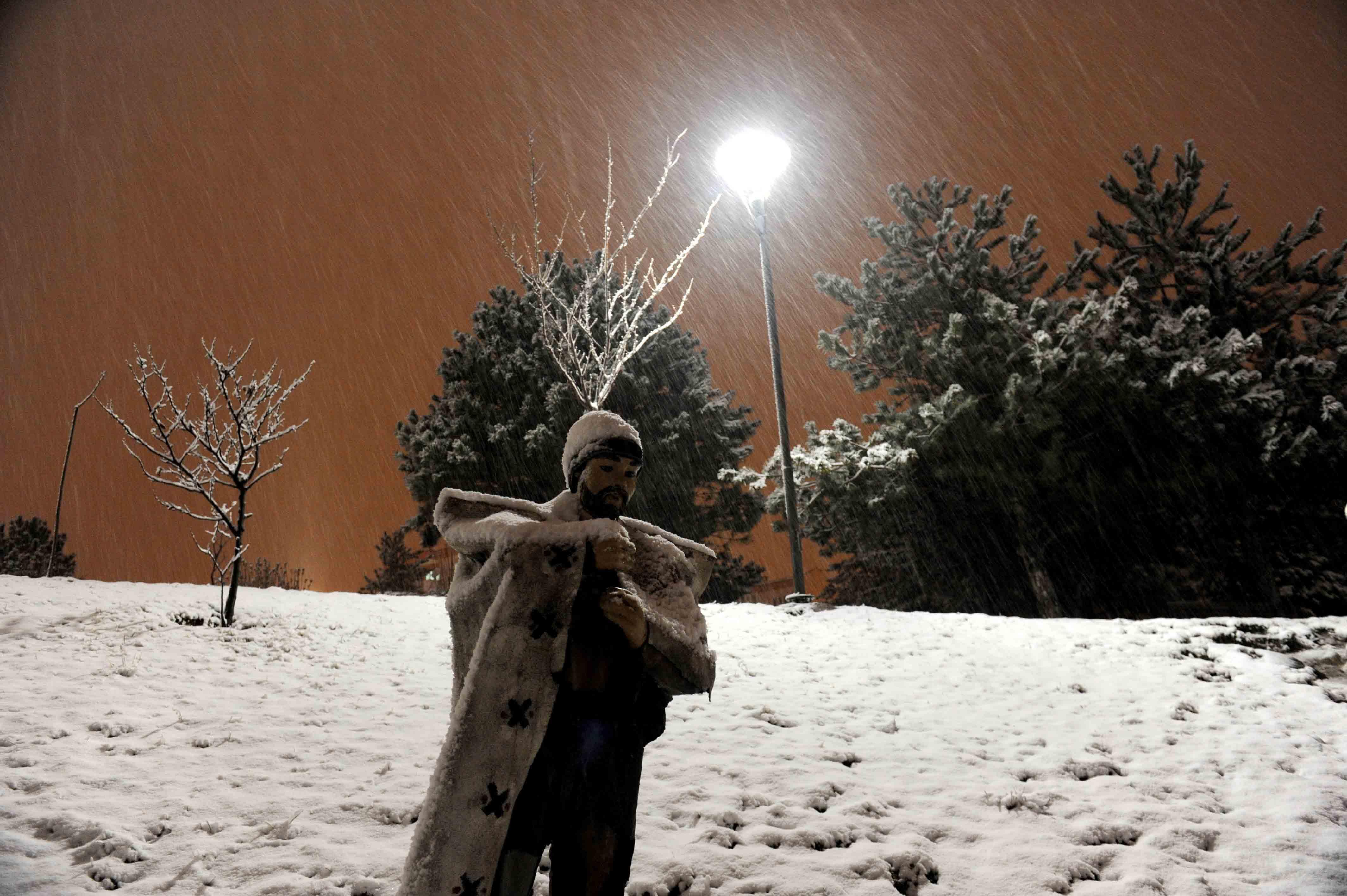 Kar Bursa'ya çok yakıştı 3