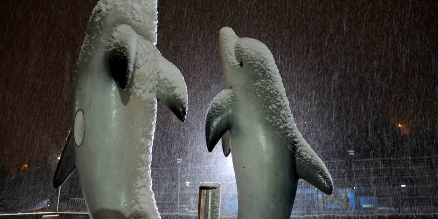 Kar Bursa'ya çok yakıştı