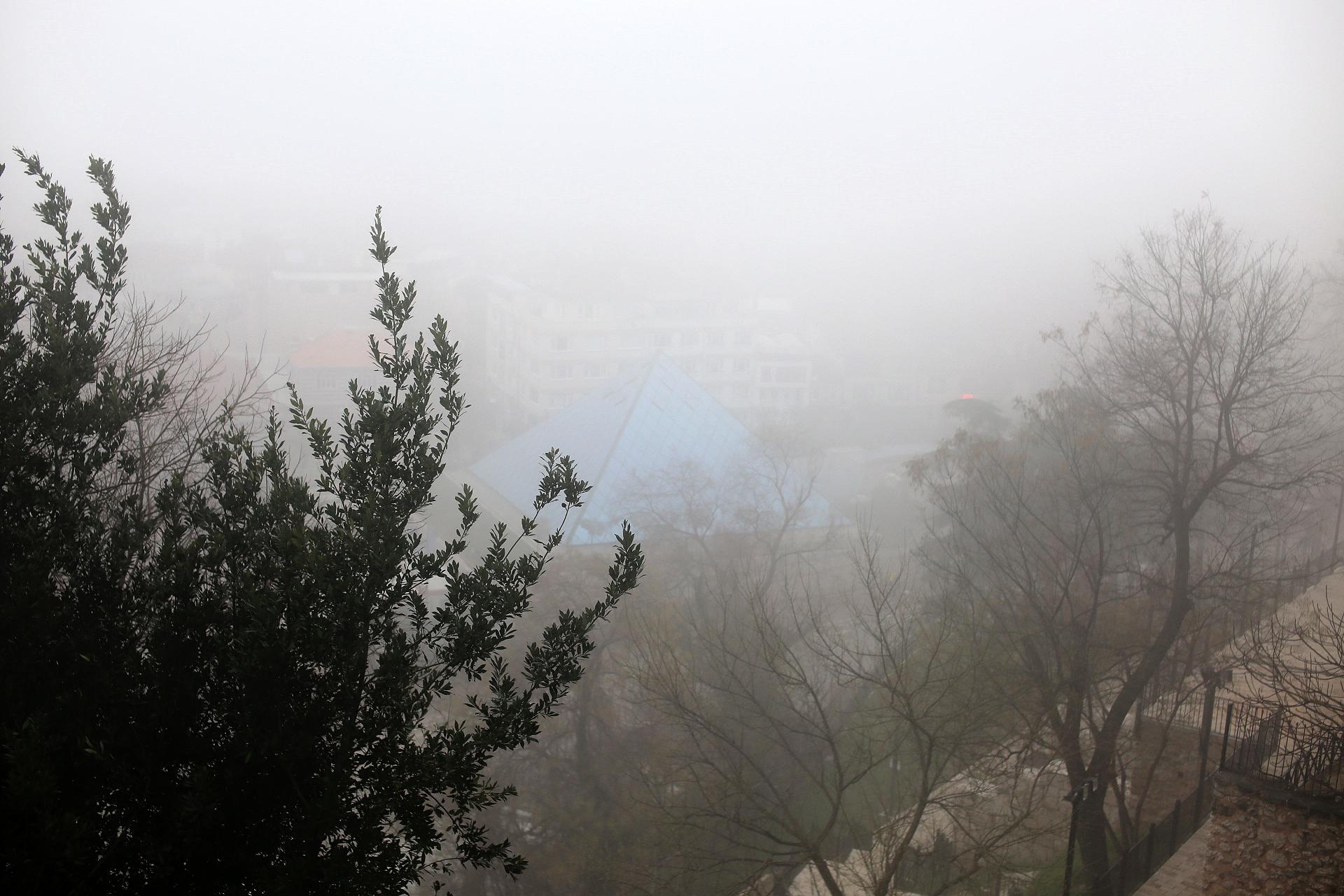 Bursa'da yoğun sis 1