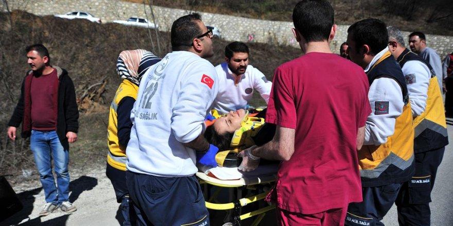 Bursa'da otobüs devrildi: Çok sayıda ölü ve yaralı var