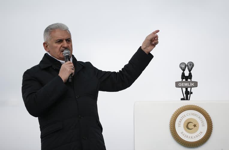 İstanbul-Bursa-İzmir Otoyolu Gemlik-Bursa kesimi açılış töreni 1
