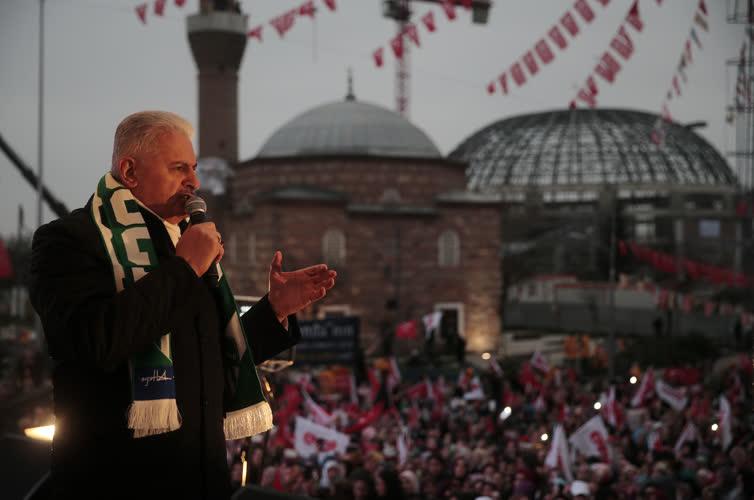 Başbakan Yıldırım Bursa'da 1