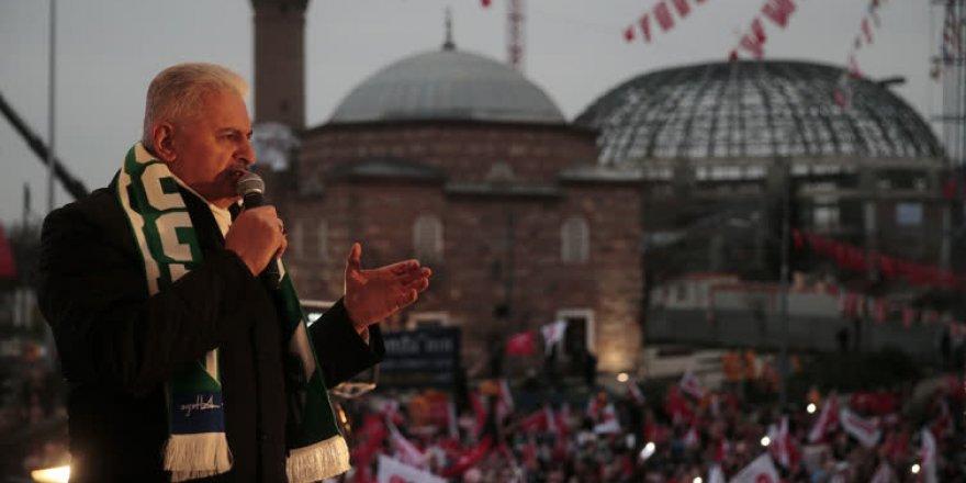 Başbakan Yıldırım Bursa'da