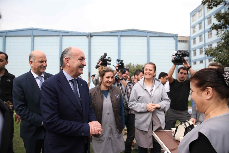 Mehmet Müezzinoğlu'ndan Yeşim'e ziyaret 1