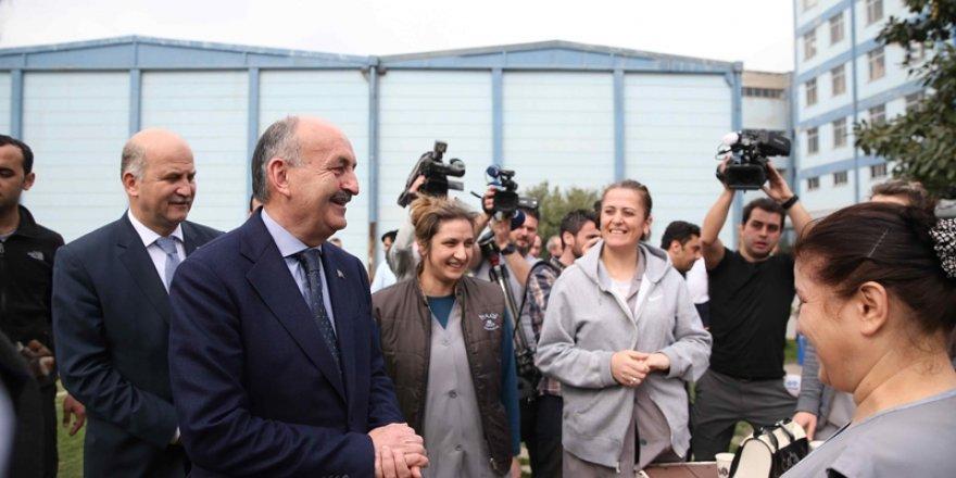 Mehmet Müezzinoğlu'ndan Yeşim'e ziyaret