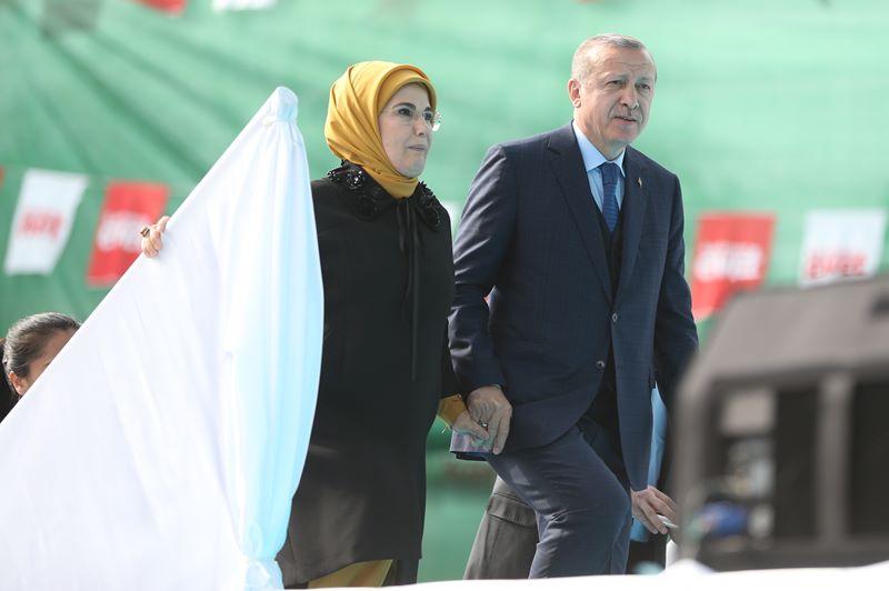 Cumhurbaşkanı Erdoğan, Bursa'da 1