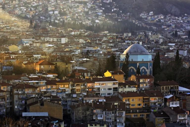 Bursa minarelerinden harika manzaralar 1