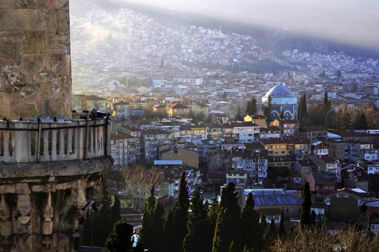 Bursa minarelerinden harika manzaralar 2
