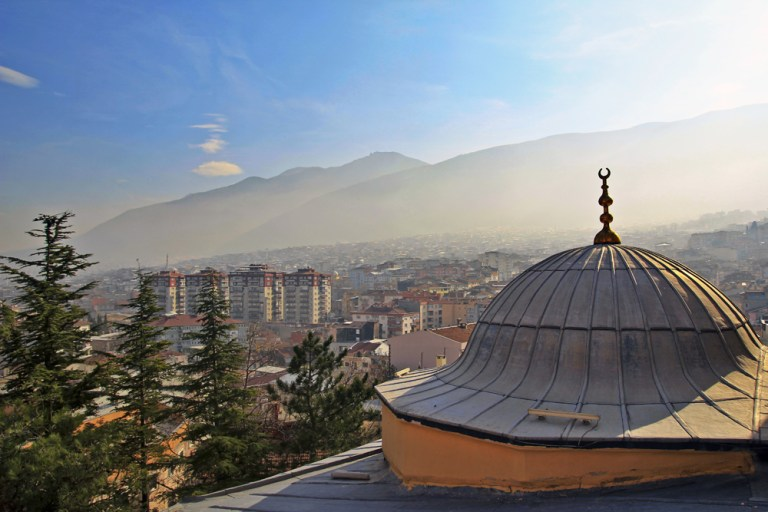 Bursa minarelerinden harika manzaralar 3