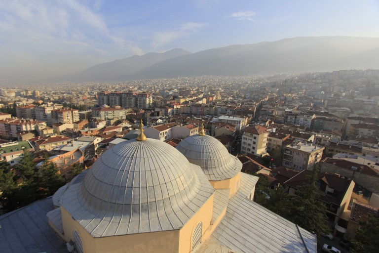 Bursa minarelerinden harika manzaralar 6