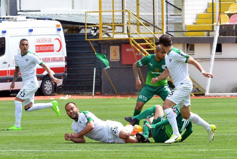 Akhisar Bld. 5- 1 Bursaspor 1