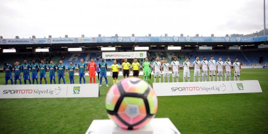Çaykur Rizespor 6-0 Bursaspor