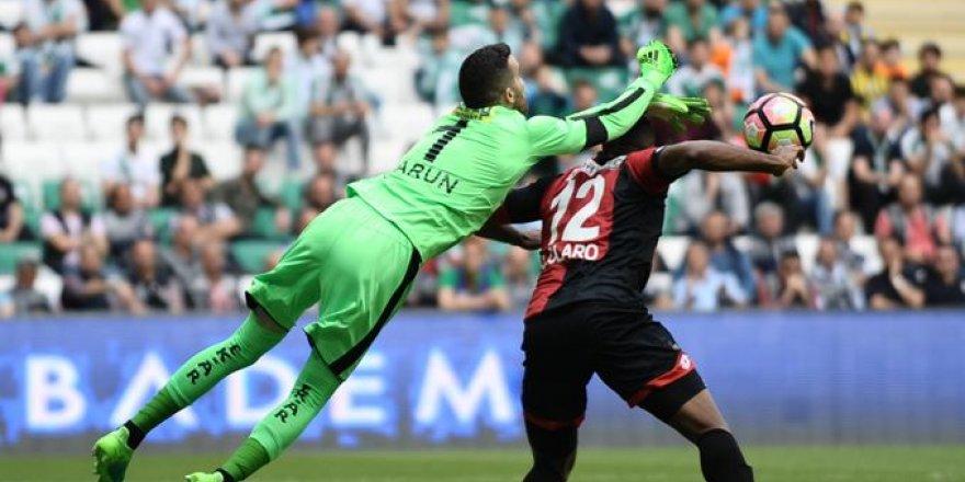 Bursaspor - Gençlerbirliği maçından kareler