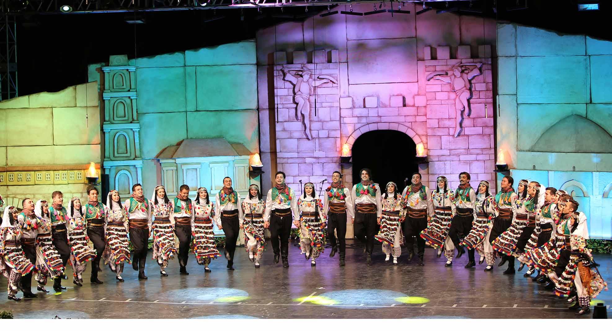 31. Uluslararası Altın Karagöz Halk Dansları Yarışması başladı. 1