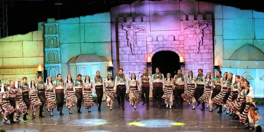 31. Uluslararası Altın Karagöz Halk Dansları Yarışması başladı.