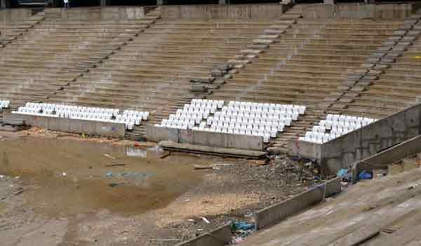 Timsah Arena'nın koltuk montajı başladı 5