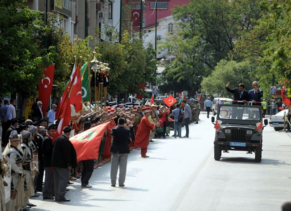 Bursa'da 30 Ağustos coşkusu 2