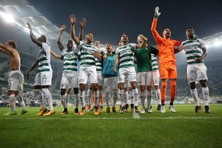 Bursaspor 3-0 T. M. Akhisarspor 1