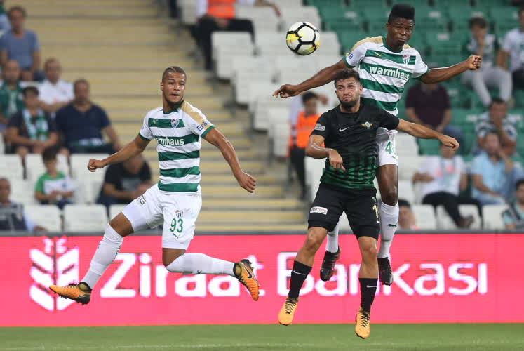 Bursaspor 3-0 T. M. Akhisarspor 58