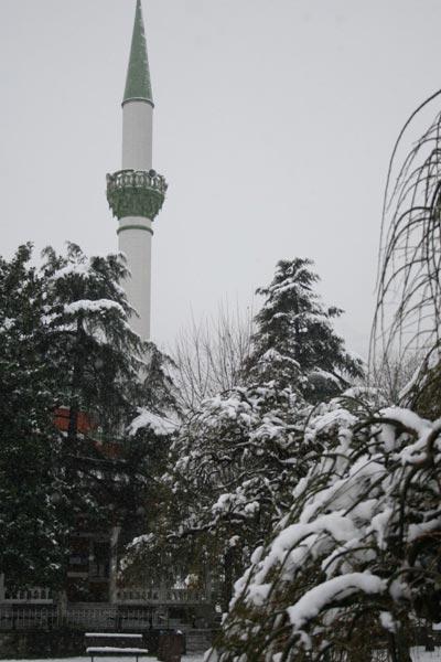 Bursa'da kartpostallık kar manzaraları 8