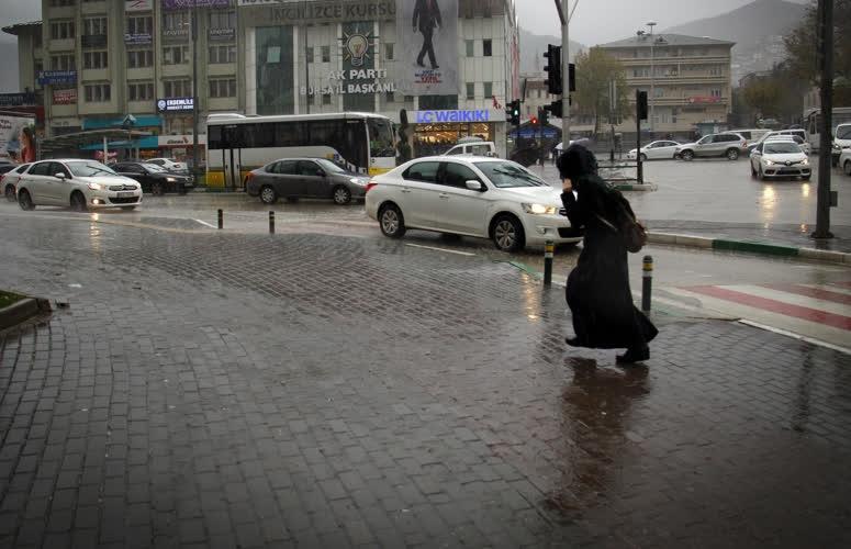 Bursa'dan yağmur manzaraları 1