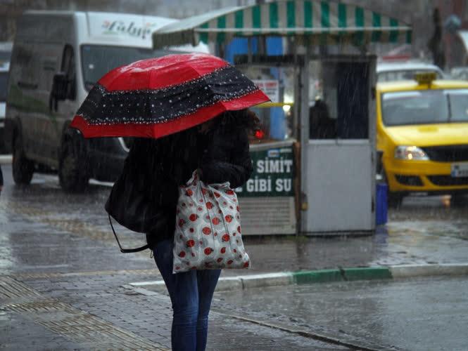 Bursa'dan yağmur manzaraları 5