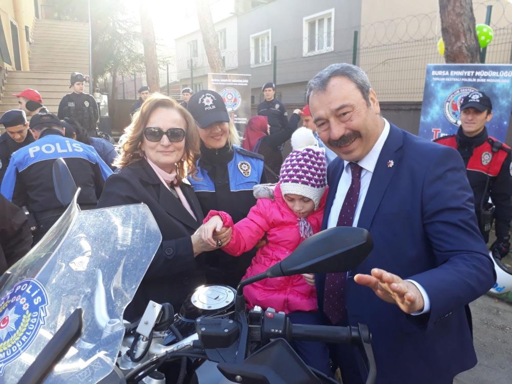 Emniyet Müdürü, engelli çocuklarla buluştu 1