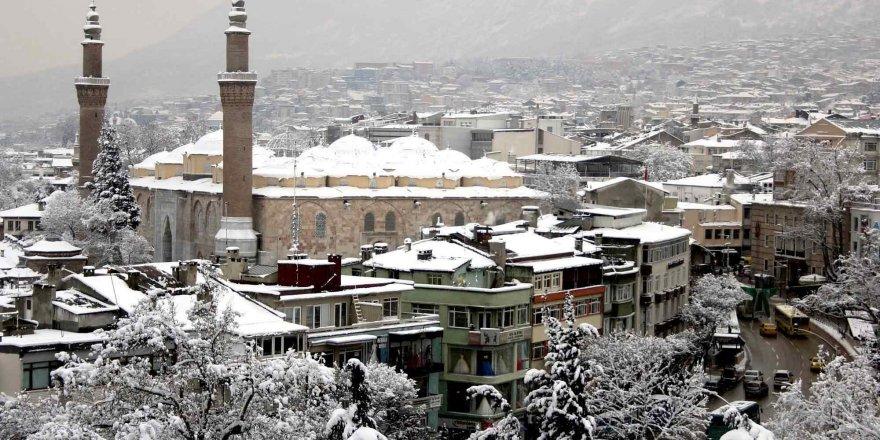 Bursa'nın tarihi mekanlarından kartpostallık görüntüler