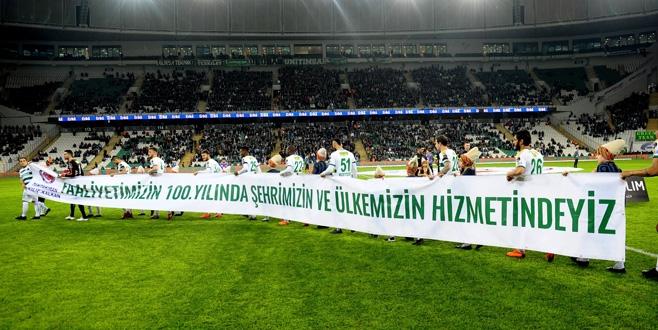 Bursaspor-Kayserispor maçından kareler 1