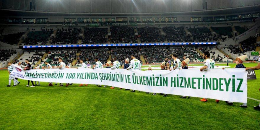 Bursaspor-Kayserispor maçından kareler