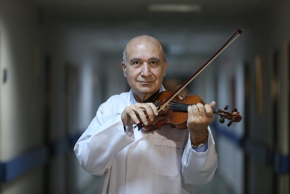 'Kalp damar cerrahisi'nin müzisyen doktorları 1