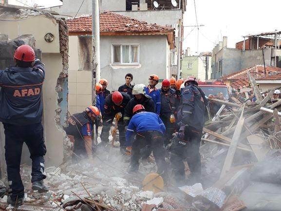 Bursa'da doğalgaz patlaması 1