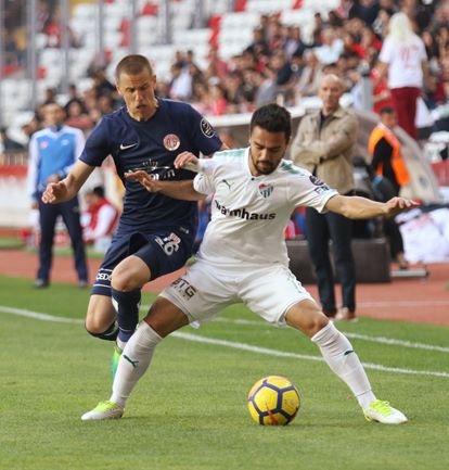 Antalyaspor - Bursaspor maçından kareler 1