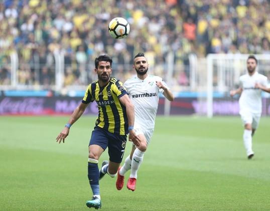 Fenerbahçe-Bursaspor maçından kareler 1