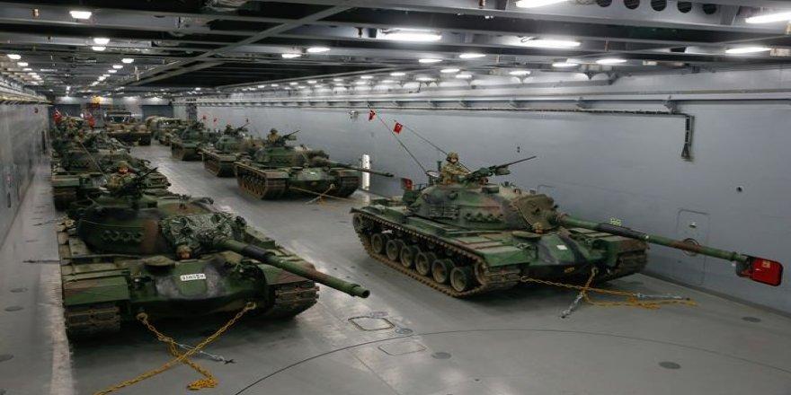 Dünyanın en büyüğü... Milli tank çıkarma gemisinin içi görüntülendi